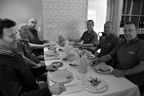 Diverse arrangementen waaronder luncen en dineren tijdens workshops